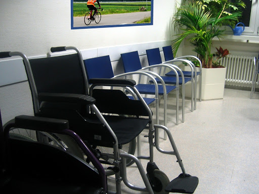 Doctor's office waiting room
