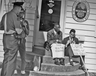 Fair housing protest in Seattle, Washington, 1964