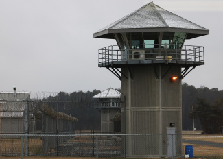 Prison security tower