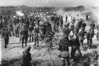 "Photograph titled""The Chicago Memorial Day Incident"""